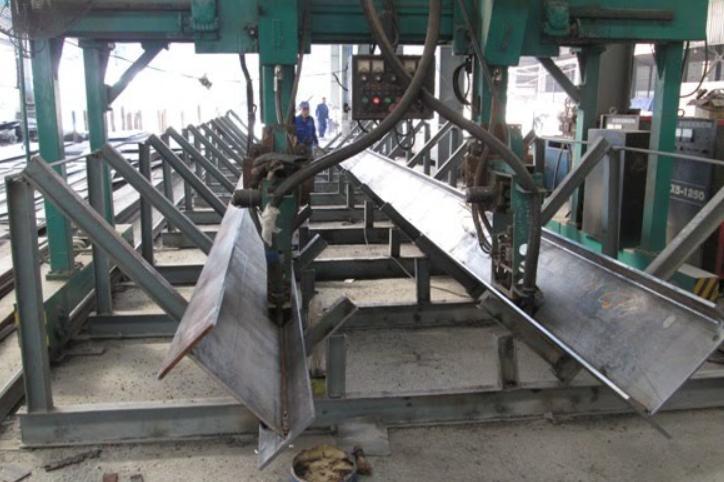 quy trình sản xuất kết cấu thép
